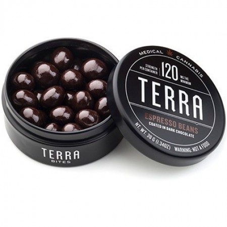 Terra Espresso Bites Coated in Dark Chocolate - Treat - Kiva