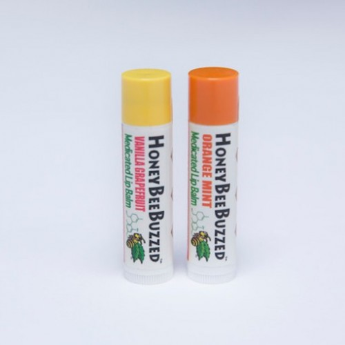Medicated Lip Balm - Orange Mint Logo